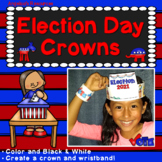 Election Day 2020 Activities: Presidential Election 2020 Crowns and Wristbands