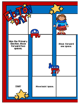 Election 2016 Math Game Addition and Subtraction