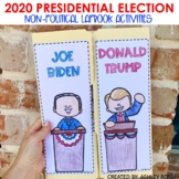 Presidential Election 2020   Election Day Activities   Lapbook