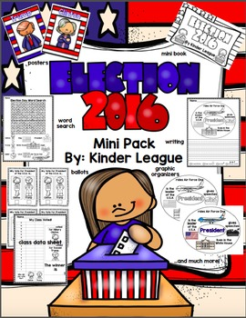 Election 2016 Mini-Pack by Kinder League
