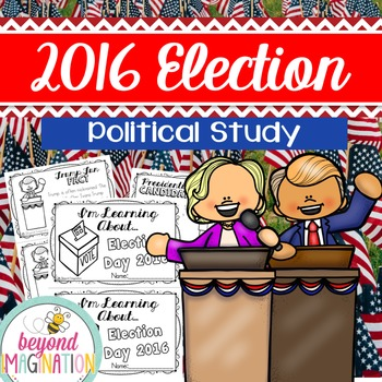 Election 2016 Booklet | 156 Pages for Differentiated Learning + Bonus Pages