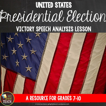 Election 2016 Presidential Victory Speech Analysis