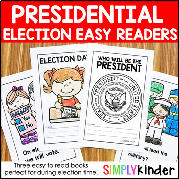 Election 2016 - Readers for Kindergarten, Preschool, and First Grade