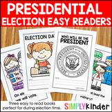 Election Kindergarten - Readers for Kindergarten, Preschool, and First Grade