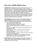 Election 2016 - Reflection Paper