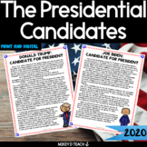 Presidential Election 2020   The Candidates BUNDLE   Dista