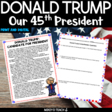 Donald J. Trump | Our President and Candidate for 2020 | Distance Learning
