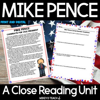 Election 2016 - United States Presidential Election - Mike Pence