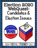 Election 2020 Webquest - Joe Biden and Donald Trump