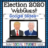 Election 2020 WebQuest Distance Learning: Joe Biden & Dona