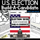 US Presidential Election 2020 Activities   PRINT + DIGITAL   Distance Learning
