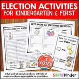 Election 2016:  Election Activities For Kindergarten