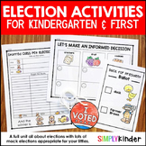 Election Activities For Kindergarten - Election Day 2020