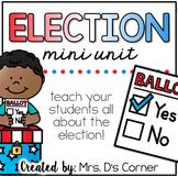 Election Activity Packet { No Prep }