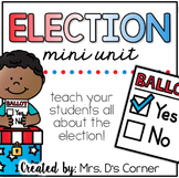 Election Activity Packet { No Prep }