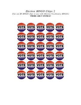 Election BINGO Chips 2