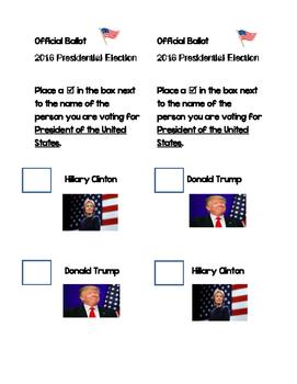 Election Ballot 2016