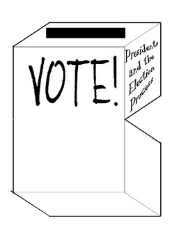 Election Ballot Box Index Card File