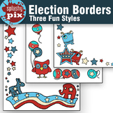 Election Borders Clipart