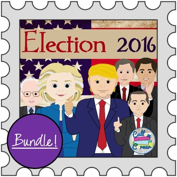Presidential Election Activities Bundle