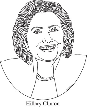 Election Bundle Realistic Clip Art, Coloring Page and Poster