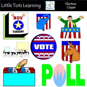US Election Clip Art