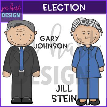 Election Clip Art - Presidential Clipart {jen hart Clip Art}