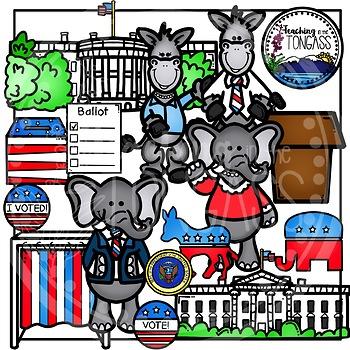 Election Clipart Bundle