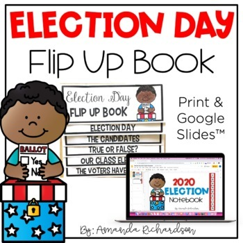 Election Day 2016 Flip Up Book
