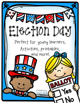 Election Day {Mini Voting, President, and Election Pack}