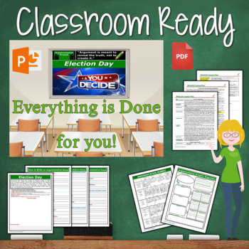 Election Day Writing BUNDLE! - Argumentative, Persuasive, Expository, Narrative