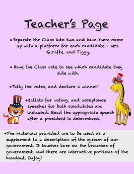 Election Day: A fun class activity to replicate the election in an awesome way!
