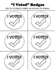 Election Day Activities - No Prep Printables