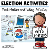 Election Day Activities – Voting, Presidential Election, Mock Elections