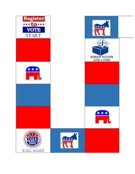 Election Day Board Game