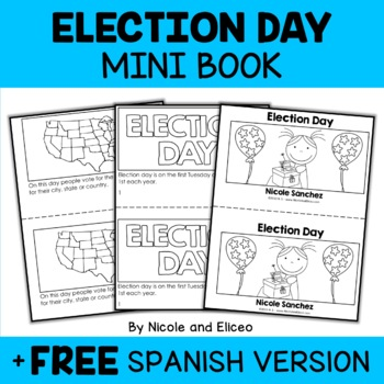 Mini Book - Election Day Activity