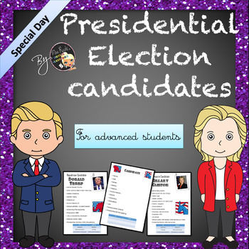 US Election Candidates' Biographies