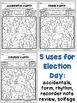Election Day Color By Number (Music)