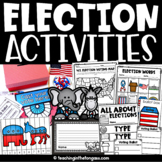 Election Day Craft Activity Flip Book