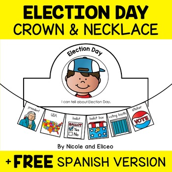 Crown Craft - Election Day Activity