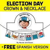 Crown and Necklace Craft - Election Day Activities