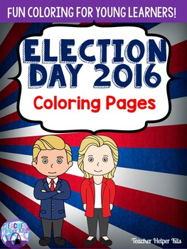 Election Day-Election 2016 Coloring