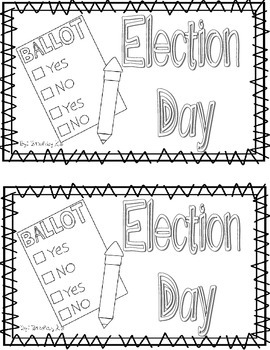 Election Day Emergent Reader