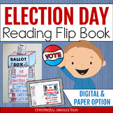Election Day Flip Book, Election Day - Digital With Google Slides