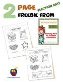 Election Day Freebie - 2 pages from AutismClassroom.com's
