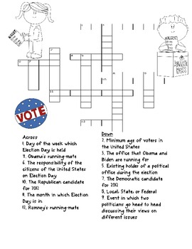 2012 Election Day Fun Pack