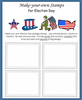 Election Day:  Fun with Postage Stamps