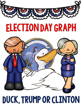 Election Day Graph : Duck, Trump, or Clinton