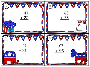 Election 2016 Math & Writing Grade 2