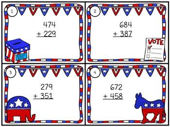 Election 2016 Math & Writing Grade 3